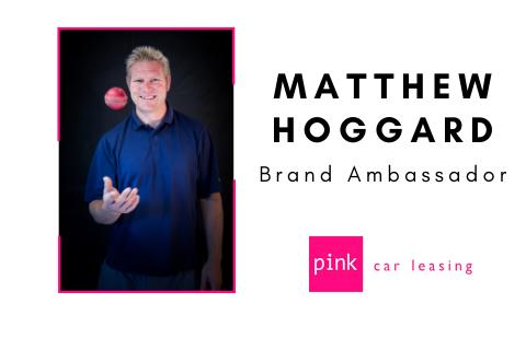 matthew-hoggard-pink-car-leasing-ambassador