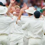 Matthew Hoggard Celebrating