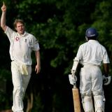 Matthew Hoggard Cricket Match